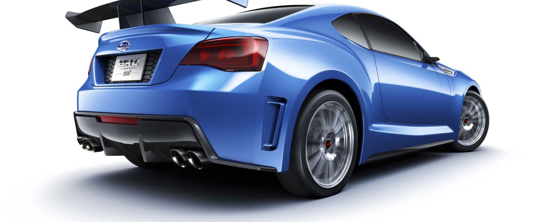 Subaru BRZ Concept STI: le nuove foto in HD
