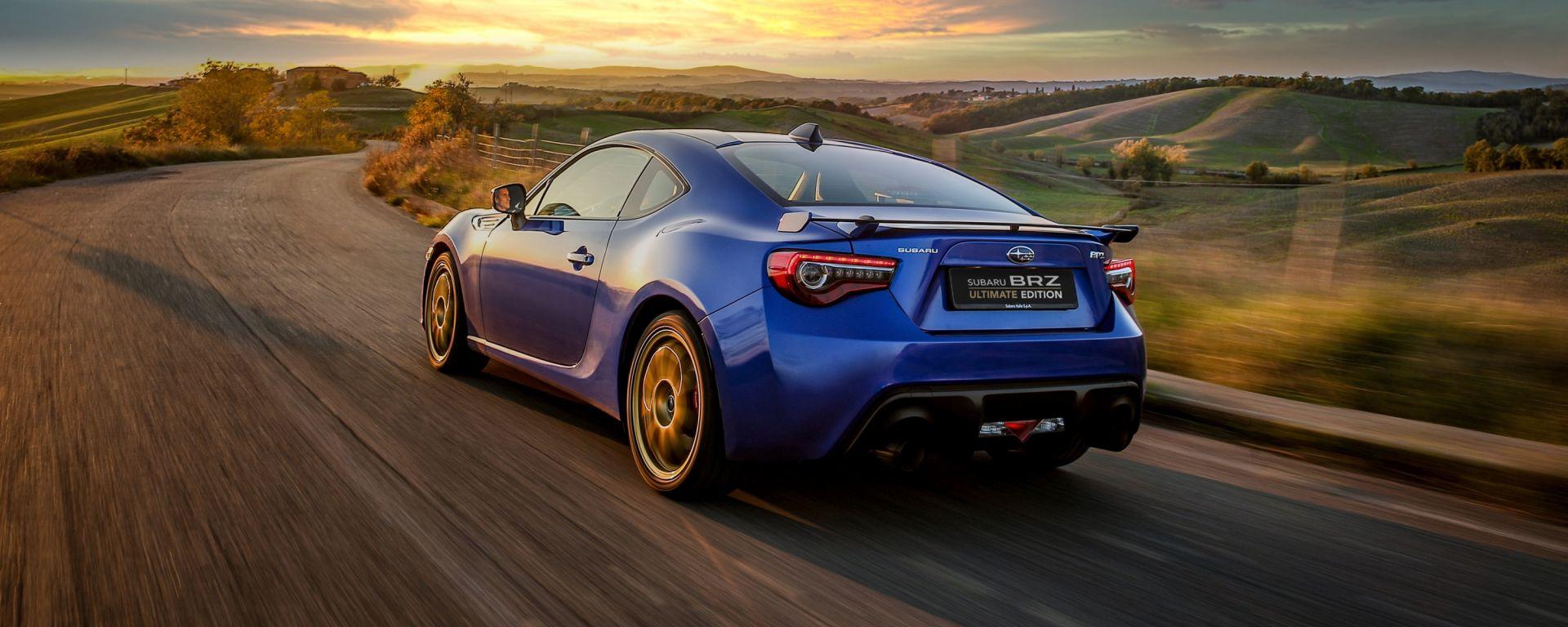 Subaru BRZ Ultimate Edition: l'ultimo saluto alla sportiva giapponese