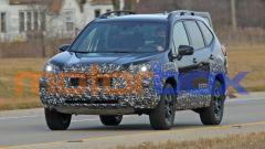 Subaru Forester 2021, foto spia del restyling