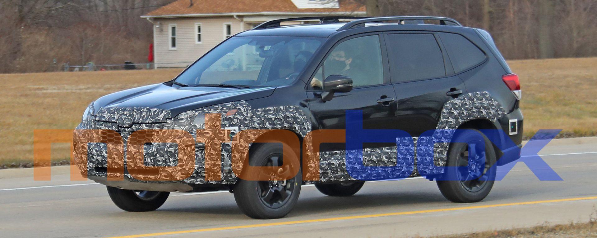 Subaru Forester 2021: visuale di 3/4