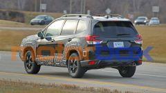 Subaru Forester 2021: visuale posteriore