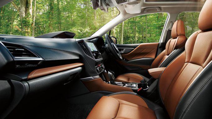 Subaru Forester 2022: i nuovi interni