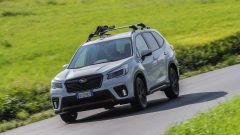 Subaru Forester e-Boxer 4dventure: 3/4 anteriore