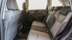 Subaru Forester e-Boxer 4dventure: l'abitacolo posteriore