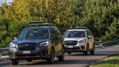 Subaru Forester e-Boxer 4dventure: le due colorazioni a confronto