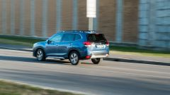 Subaru Forester e-Boxer Premium: in azione durante la prova su strada