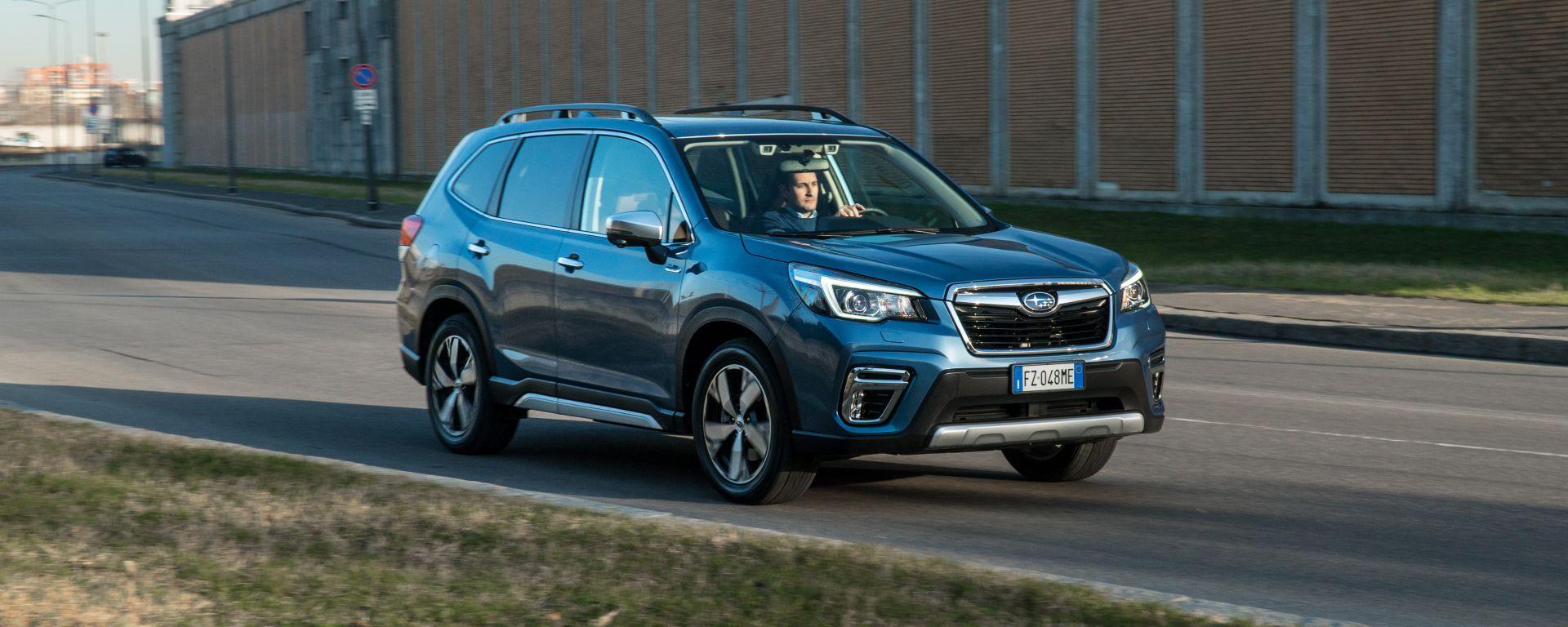 Subaru Forester e-Boxer Premium: la prova su strada
