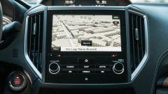 Subaru Forester e-Boxer Premium: lo schermo dell'infotainment