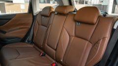 Subaru Forester e-Boxer Premium: tanto spazio per il posteriore