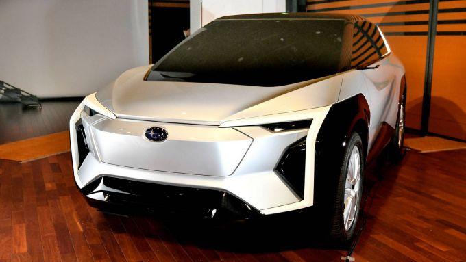 Subaru, il primo SUV elettrico entro il 2025