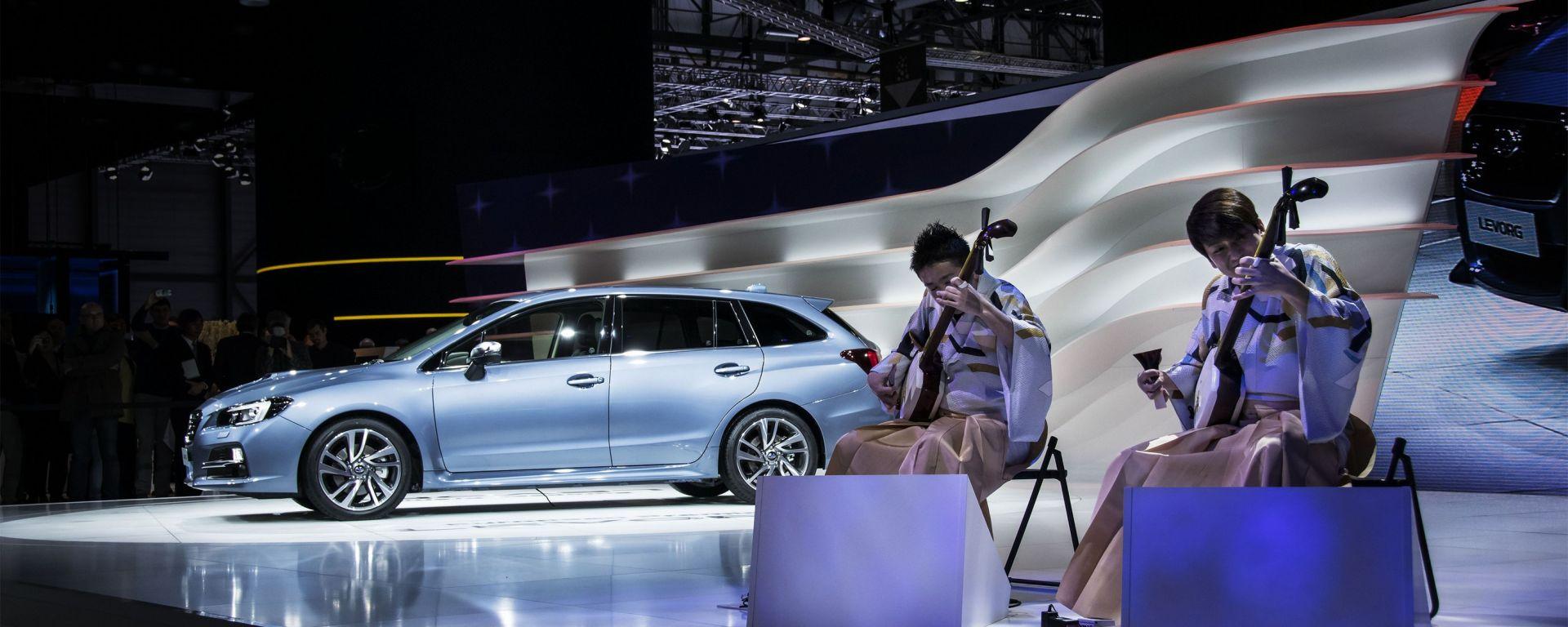 Subaru: il video dallo stand