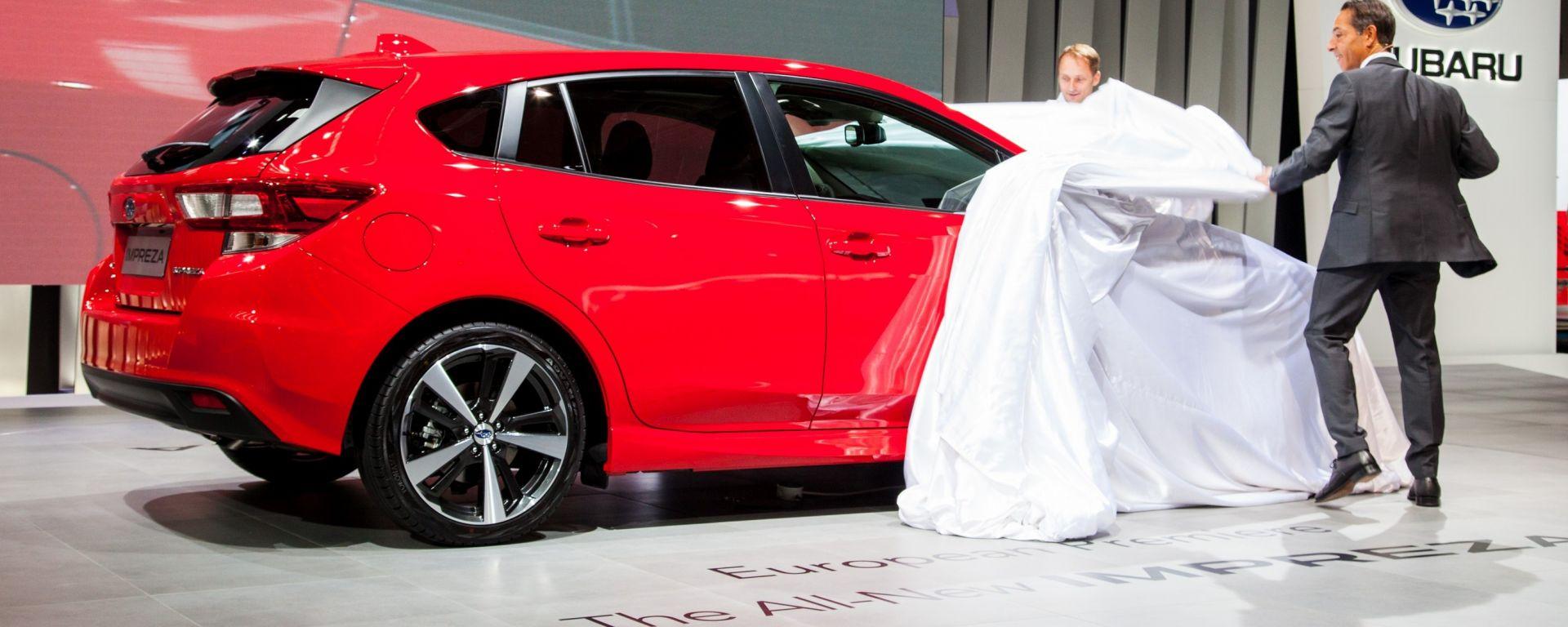 Subaru Impresa 2018, Salone dell'auto di Francoforte 2017