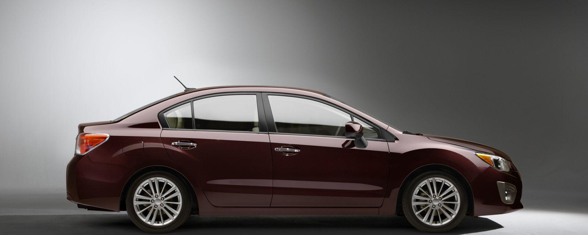 Subaru Impreza 2012: la prima foto ufficiale