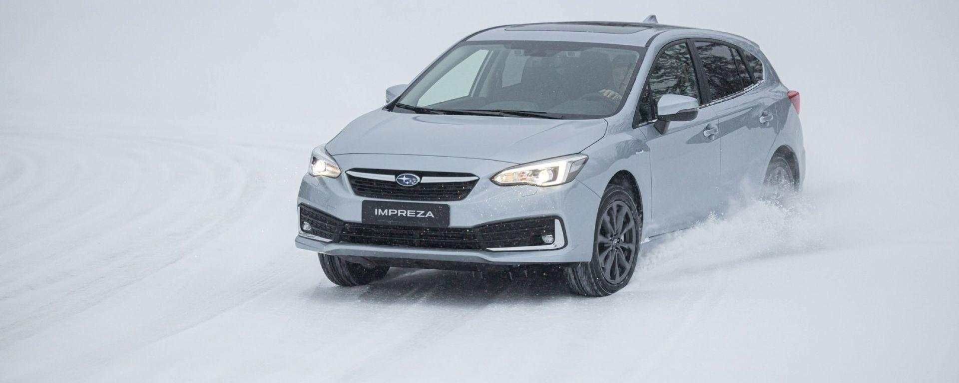 Subaru Impreza e-Boxer copertina