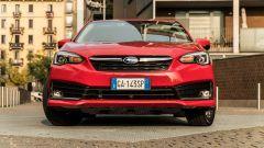 Subaru Impreza e-Boxer: il frontale