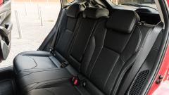 Subaru Impreza e-Boxer, interni: il divano posteriore