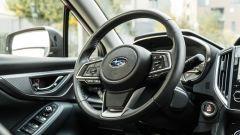 Subaru Impreza e-Boxer, interni: il volante