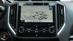 Subaru Impreza e-Boxer, interni: infotainment, il display da 8