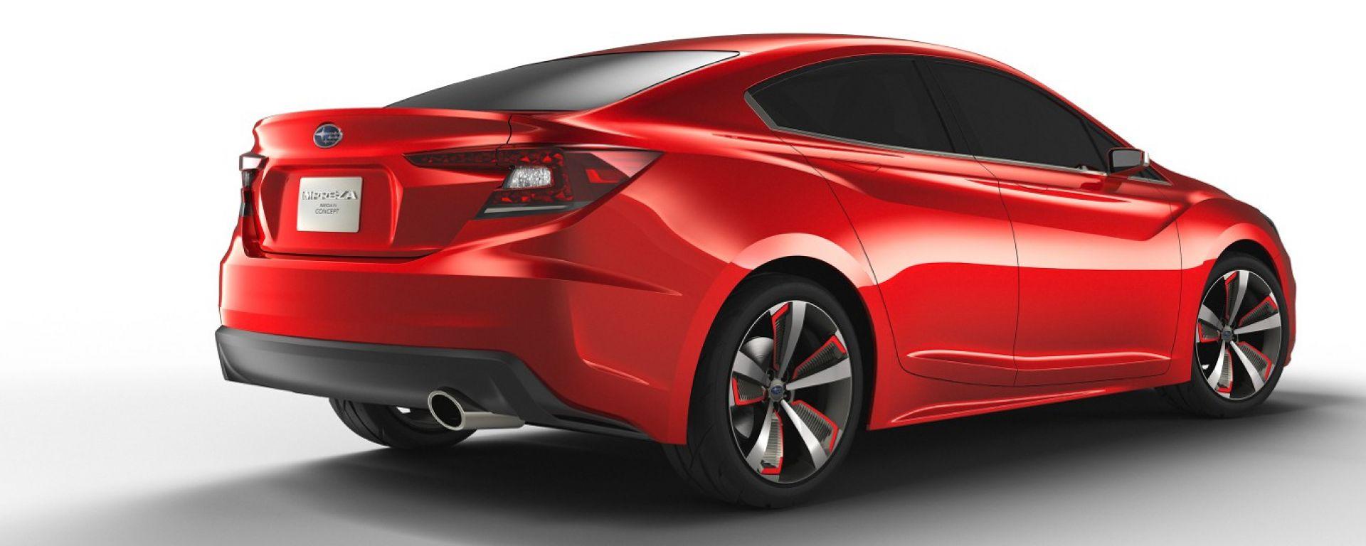 novità auto - subaru impreza sedan concept - motorbox