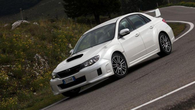 Subaru Impreza WRX STi: come nel Mondiale Rally