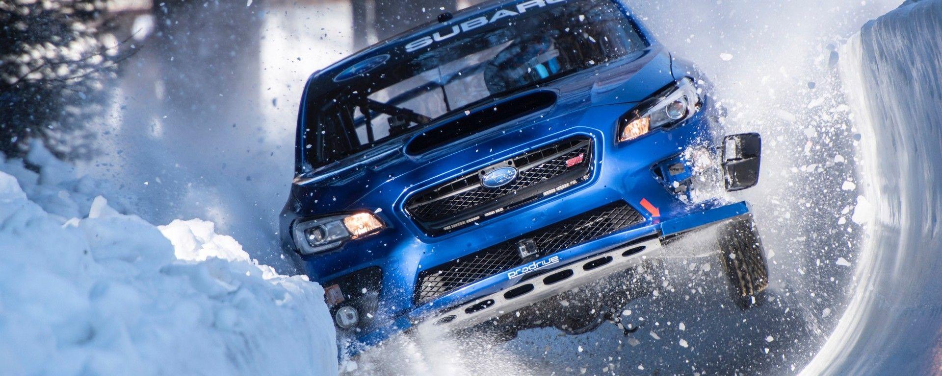 Subaru Impreza WRX STI: sulla pista di bob di St. Moritz