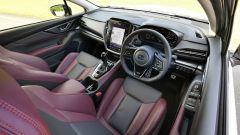 Subaru Levorg 2021, gli interni