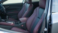 Subaru Levorg 2021, i sedili anteriori