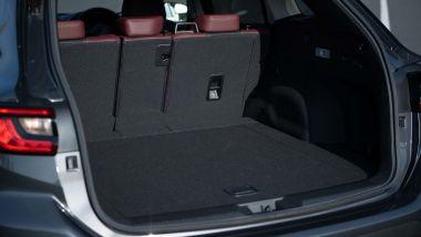 Subaru Levorg 2021, il bagagliaio