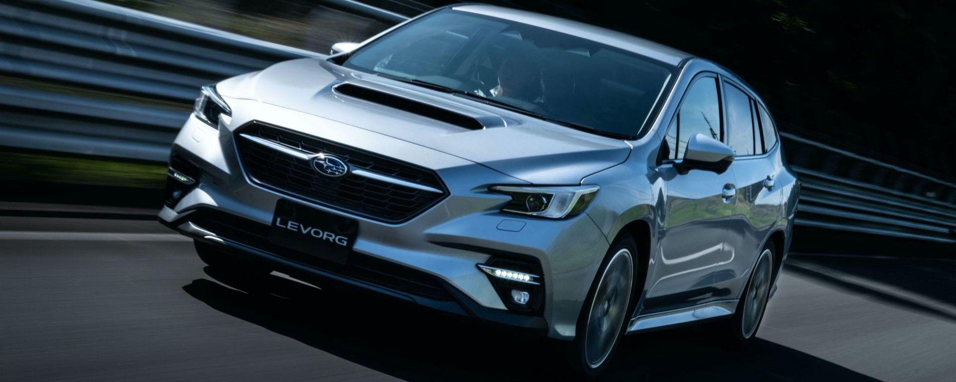 Subaru Levorg 2021, il design è più affilato