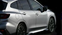 Subaru Levorg 2021, le linee muscolose della fiancata