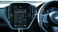 Subaru Levorg 2021, lo schermo  dell'infotainment