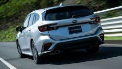 Subaru Levorg 2021, si noti il doppio scarico