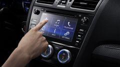 Subaru Levorg MY 2017: lo scherma da 7 pollici capacitivo
