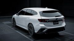 Subaru Levorg STi Sport prototype 2020, vista 3/4 posteriore