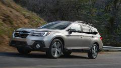 Subaru Outback 2018, ritocchi leggeri al frontale