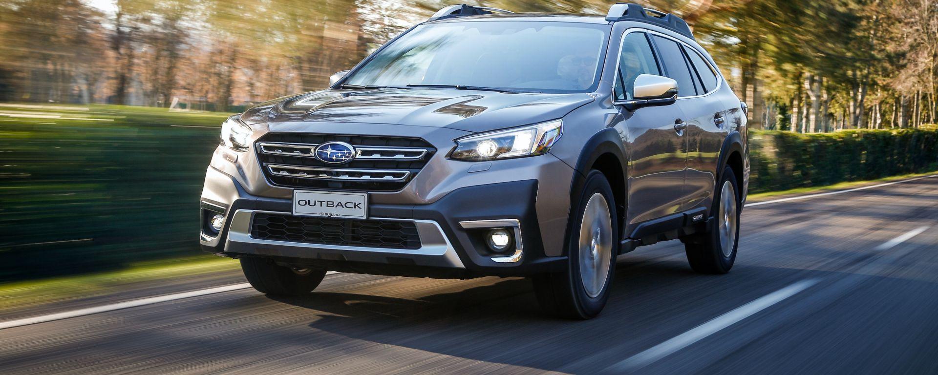 Subaru Outback 2021: cresce in dimensioni