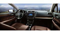 Subaru Outback restyling 2018, ha un nuovo schermo per l'infotainment