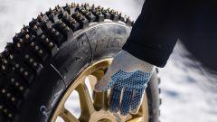 Subaru: per l'impresa sulla pista di bob sono state montate gomme chiodate