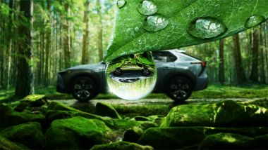 Subaru Solterra, appuntamento al 2022