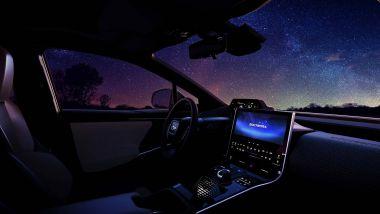 Subaru Solterra EV: gli interni