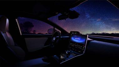 Subaru Solterra, gli interni