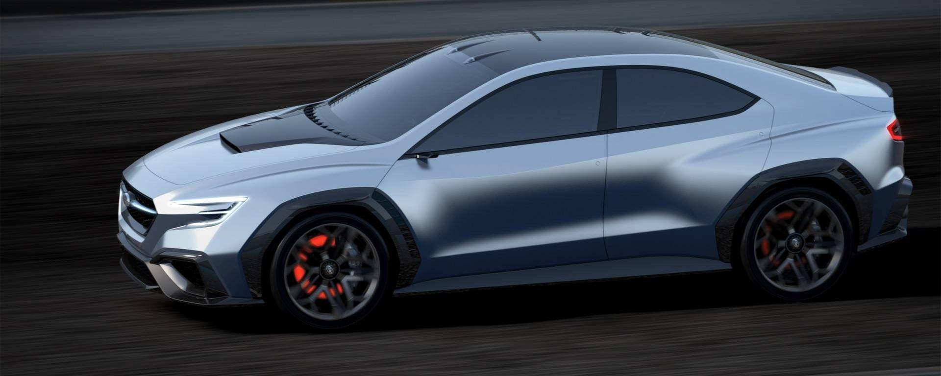 Subaru Vizis Performance Concept - visuale laterale