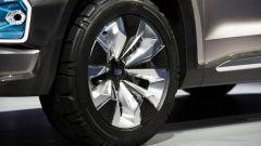 Subaru Viziv 7, i cerchi sono da 21''