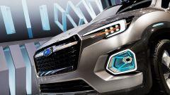 Subaru Viziv 7, i fari a LED