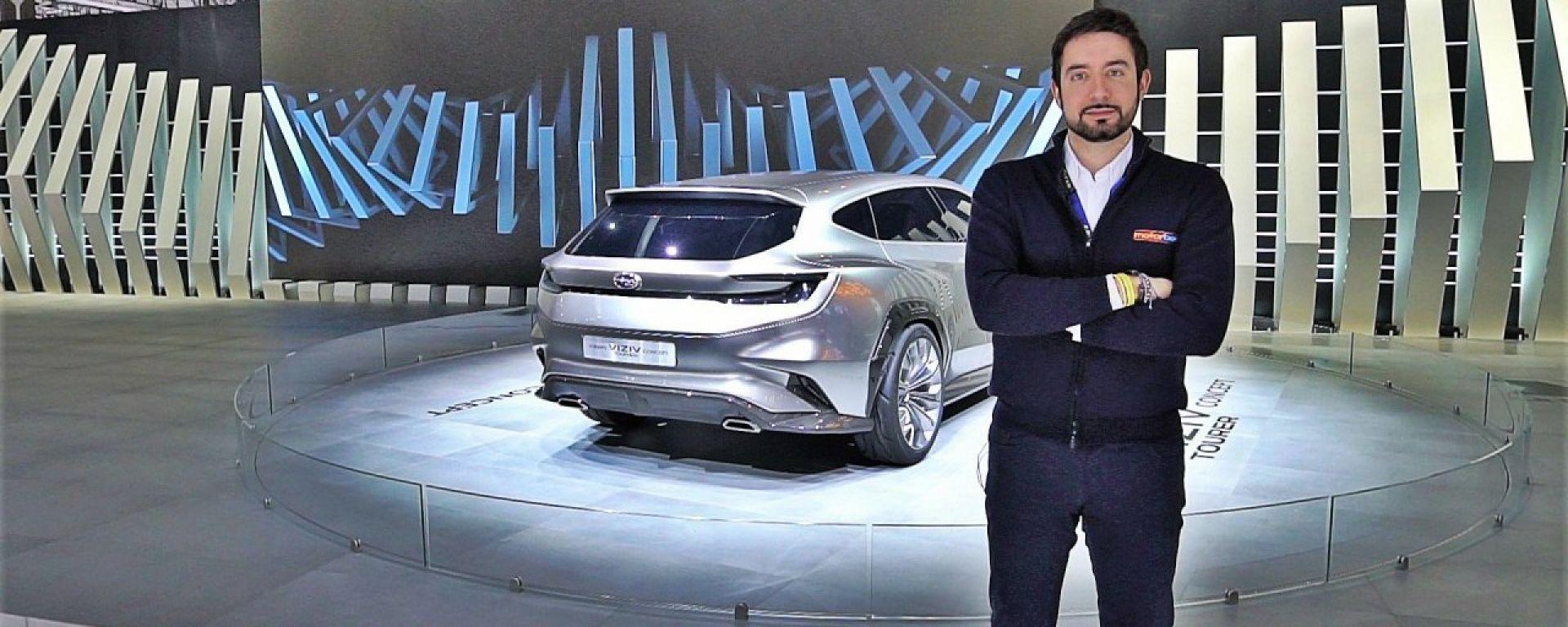 Subaru Viziv Tourer Concept, Live dal salone di Ginevra 2018