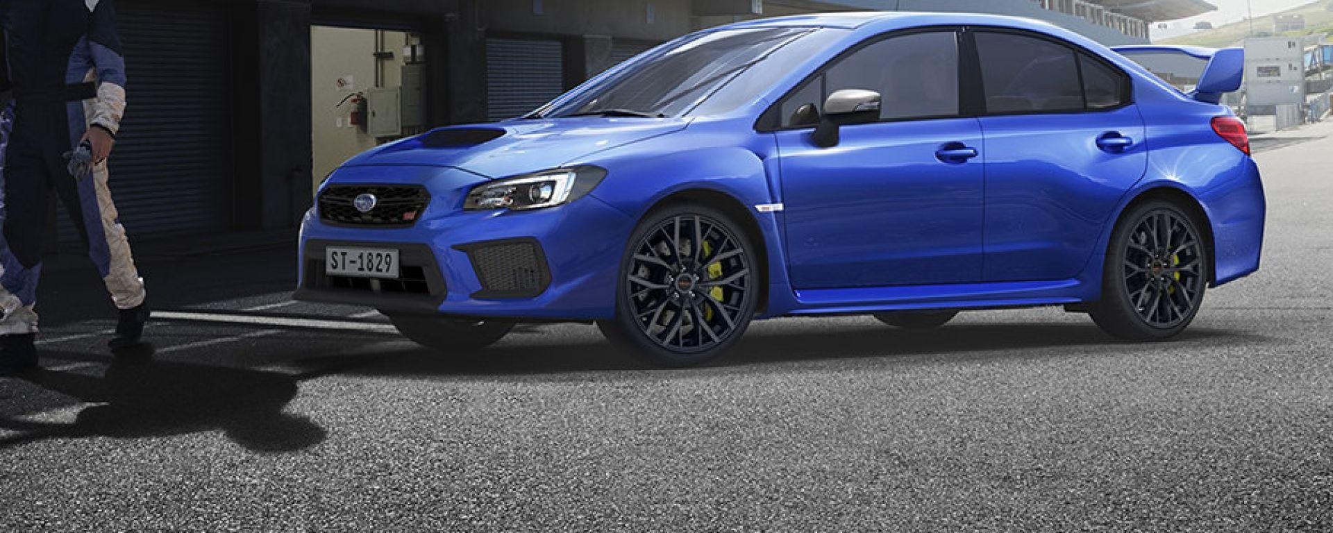 Subaru WRX STI: la versione attuale