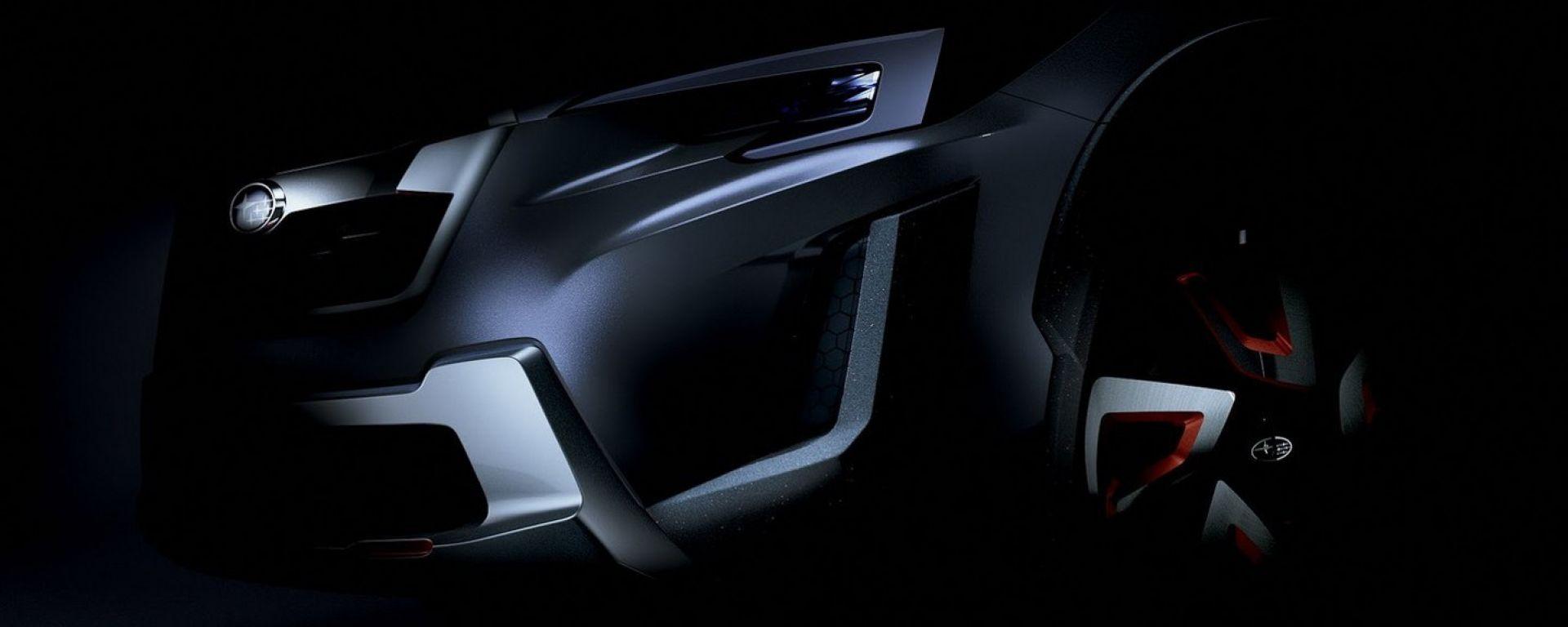 Subaru XV Concept: il teaser