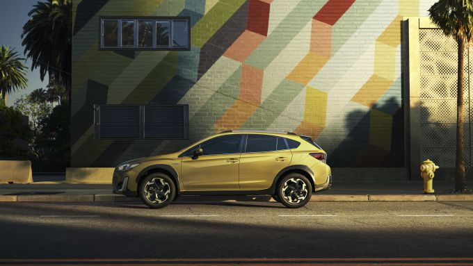 Subaru XV 2021, visuale laterale