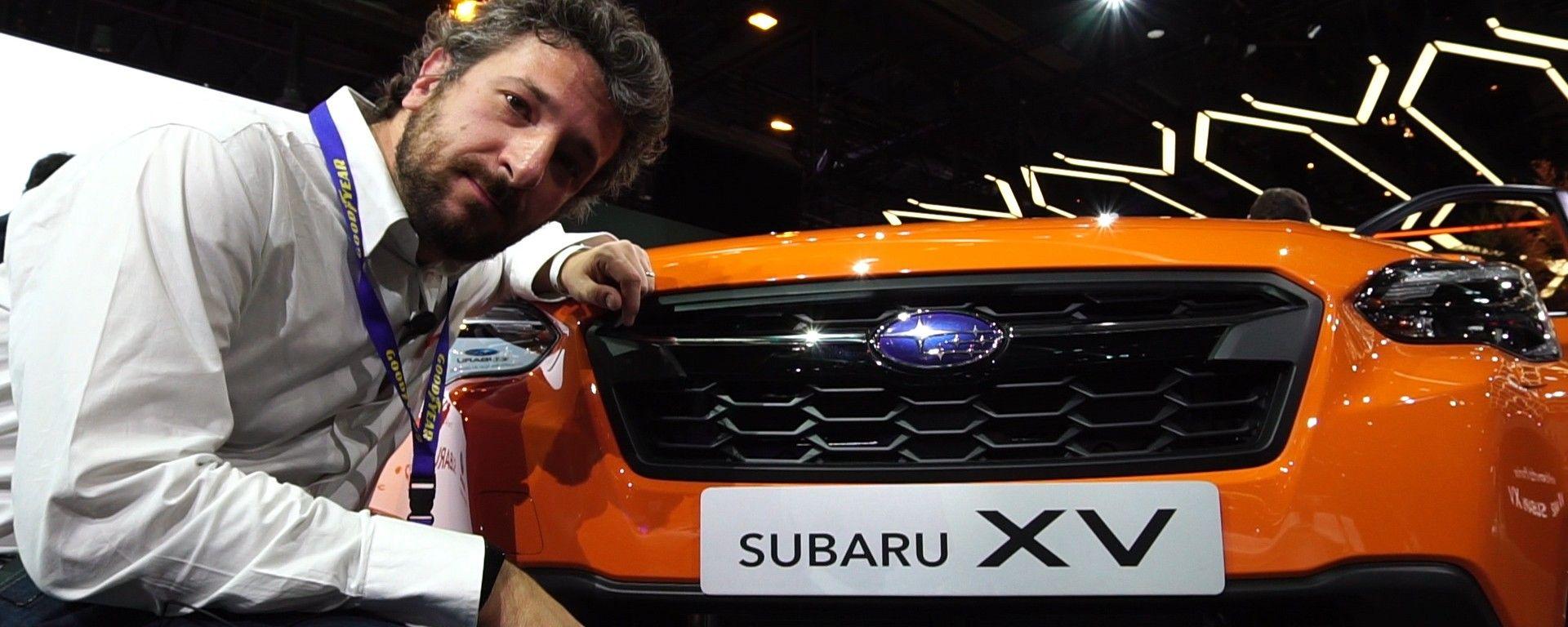 Subaru XV al Salone di Ginevra 2017