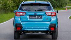 Subaru XV e-Boxer 2020, il posteriore